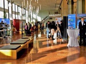 Blick in den Messebereich Foyer 2