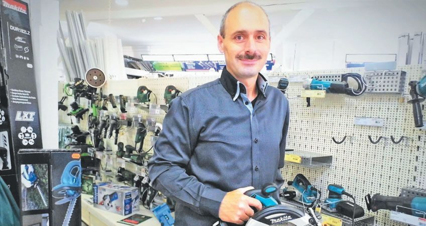 Produktmanager Lutz Wiedemann